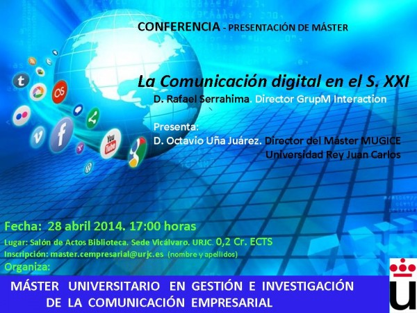 Conferencia Comunicación Digital