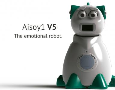 Aisoy1 V5.  The educational emotional robot
